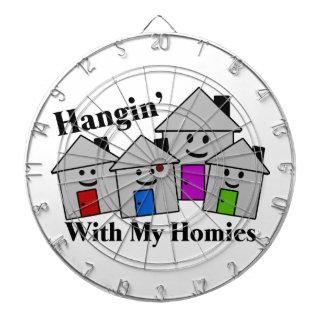 Hangin With My Homies Dartboards