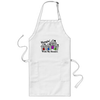 Hangin With My Homies Long Apron