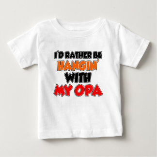 Hangin With My Opa Baby T-Shirt