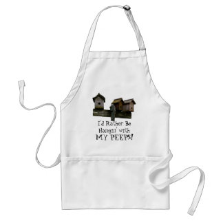 Hangin with my PEEPS! Adult Apron
