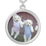 Hanging Around Puppies Necklace