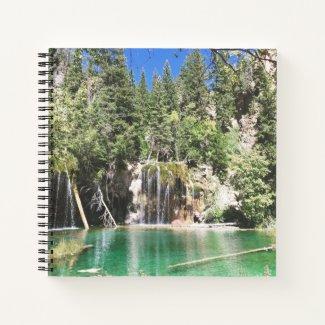 """""""Hanging at Hanging Lake"""" Spiral Notebook"""
