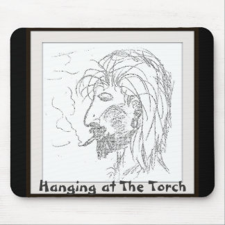 Hanging at The Torch Mouse Pad