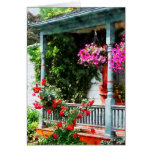 Hanging Baskets and Climbing Roses Cards
