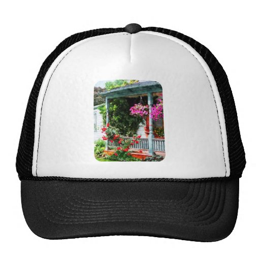 Hanging Baskets and Climbing Roses Trucker Hat