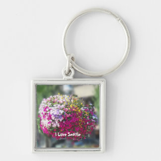 Hanging Baskets Keychain