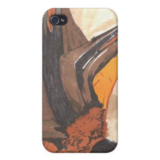 Hanging Bat iPhone 4/4S Case