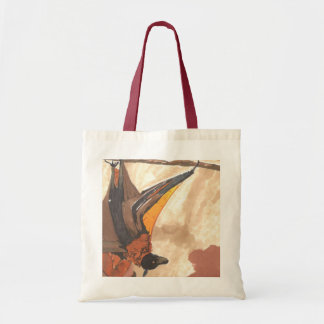 Hanging Bat Tote Bag