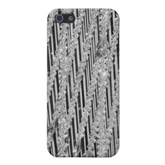 Hanging Beaded Glass Crystal Strands Cases For iPhone 5