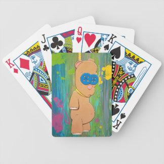 Hanging Bear Playing Cards