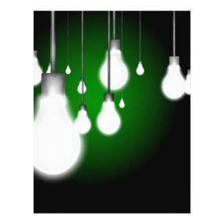 Hanging bulbs flyer