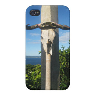 Hanging bull carcass cases for iPhone 4