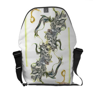 Hanging By A Thread Messenger Bag