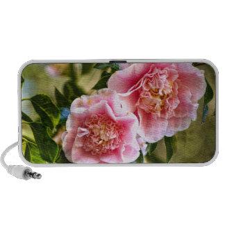 Hanging Camellias Portable Speaker