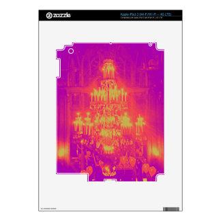 Hanging chandelier Pop Art Neon Colors iPad 3 Skin