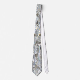 Hanging Crystal Curtain Neck Tie