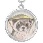 Hanging ferret