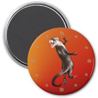 Hanging Ferret Magnet