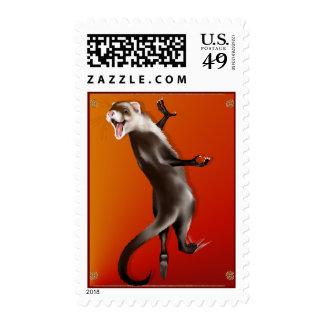Hanging Ferret Postage