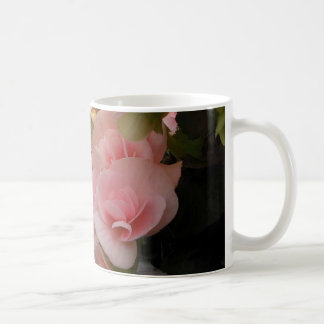 Hanging flower baskets classic white coffee mug