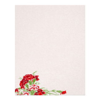 Hanging Flower ~ Letterhead