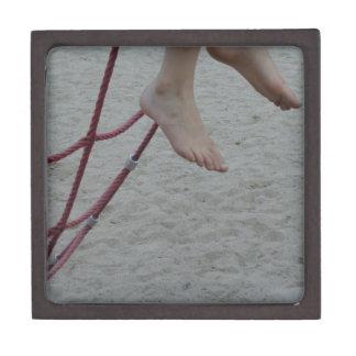 hanging foot climbing frame feet playground sand premium jewelry box