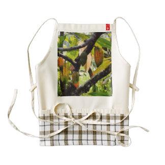 Hanging fruit zazzle HEART apron