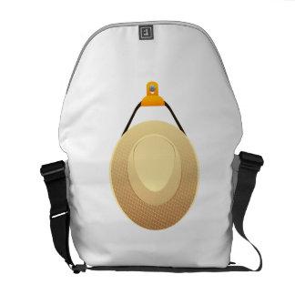 Hanging Gardening Hat Messenger Bag