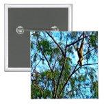 """Hanging Gibbon"" Artwork Buttons"
