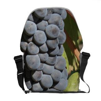Hanging Grapes Messenger Bag