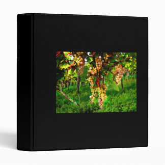 Hanging Grapes on the Vines 3 Ring Binders