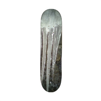 hanging icicle skate board deck