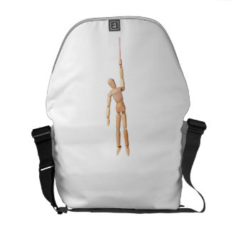 Hanging in the air commuter bag