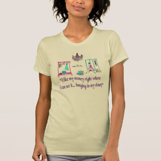 Hanging in the closet t shirt