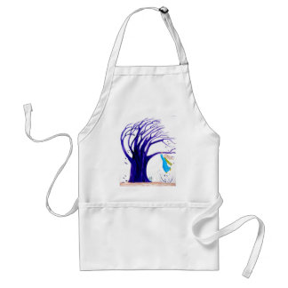Hanging in there adult apron