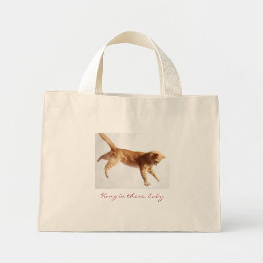Hanging In There Mini Tote Bag