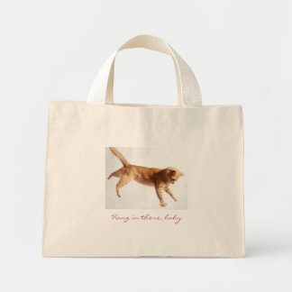 Hanging In There Tote Bags