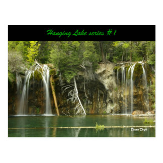 Hanging Lake series #1 Postcard