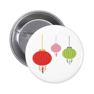 Hanging Lanterns 2 Inch Round Button