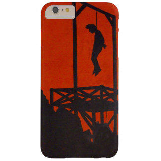Hanging Man Gallows Barely There iPhone 6 Plus Case