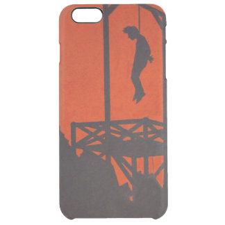 Hanging Man Gallows Clear iPhone 6 Plus Case