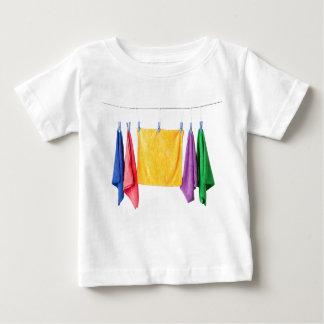 Hanging microfiber towels tshirts