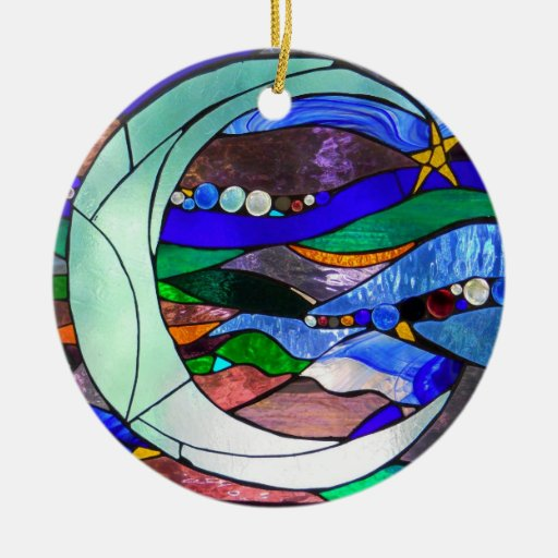 Hanging Moon Ornament