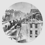 Hanging of Lincoln Assassination Conspirators Classic Round Sticker
