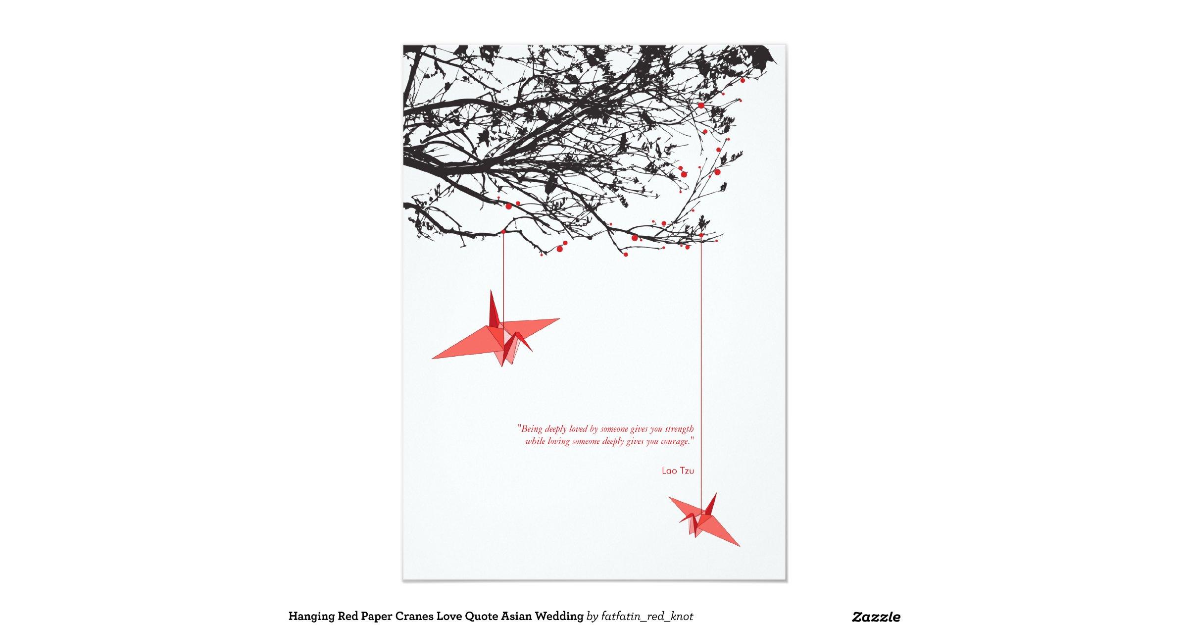 wedding invitations origami crane - 28 images - purple paper cranes ...