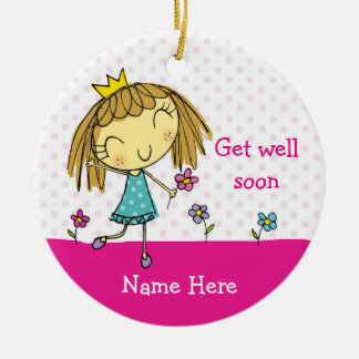 ♥ HANGING ORNAMENT ♥ Get Well Soon present gift