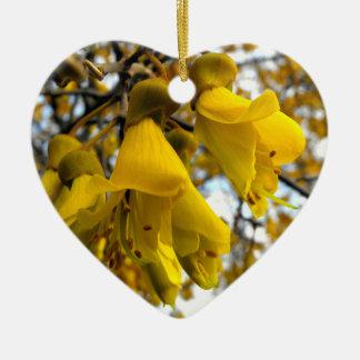 Hanging Ornaments Of Flowering Kowhai