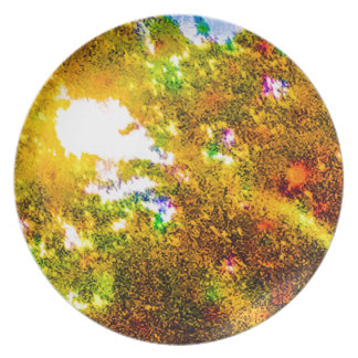 Hanging out Among the Trees Melamine Plate
