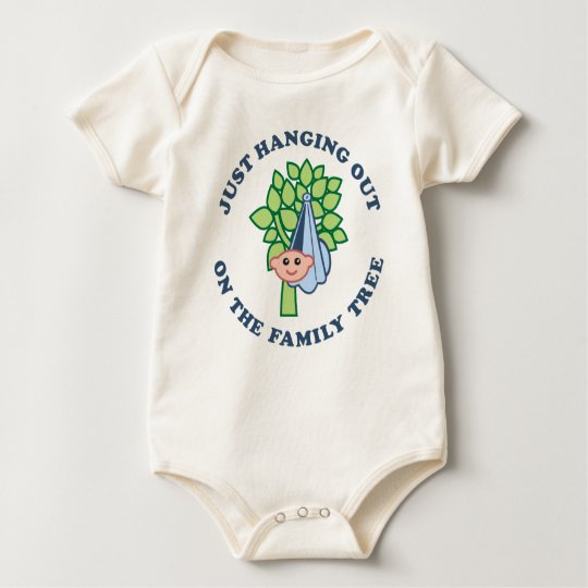 Hanging Out On Family Tree Baby Bodysuit