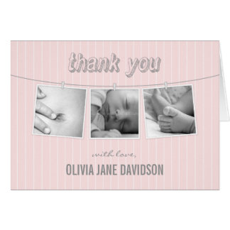 Hanging Pictures Thank You Card Greeting Card